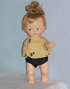 OMG! My mom had a Pebbles and a BamBam doll!