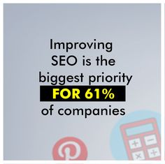 More and more businesses are aware of the incredible growth that they can experience when they rank highly on Google. While SEO is the biggest priority for 61% of companies, every company in the remaining 39% will need to make SEO a high priority if they want to stay current and continue growing.   #SEO #seotips #seomarketing #seoservices #seoproblems #seoexpert #seoconsultant #seostrategy #SEOtools #seocompany #seoagencymalad #seoservicesmumbai #SEOservicesindia #seoagency #seoagencymumbai