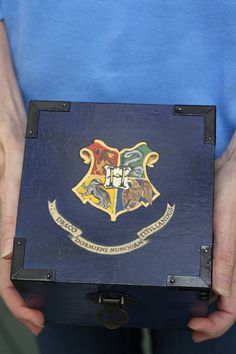 Harry Potter Potion Kit in Blue Wooden Box with by Zuffolo on Etsy