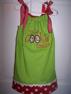 Official Cookie Taster Pillowcase Dress