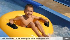 """An entire day of """"Fun in the Sun"""" at CiCi's Waterpark in Acapulco, in May of 2006.  This outing was generously donated by """"Friends of Acapulco"""". This is one the the children's favorite places to visit.  Who doesn't like waterparks, right?  Especially when your a kid. After enjoying the dozens of rides in the waterpark, a few of the children got the opportunity to swim with the dolphins!  Wow! How cool is that? If you are interested in Sponsoring and Event, please contact us."""