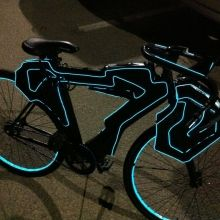 My tron bike...