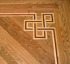 hardwood floor design | 2012 Grzegorz Heichel [Polish Hardwood Floors] Wood Floor Pattern, Wood Floor Design, Floor Patterns, Tile Design, Paver Patterns, Diy Flooring, Timber Flooring, Parquet Flooring, Hardwood Floor Colors