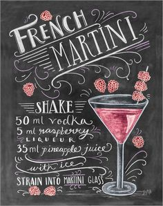 Lily & Val - French Martini Rezept