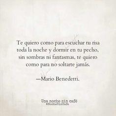 Te quiero - Mario Benedetti