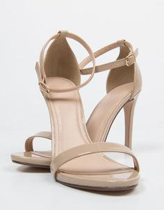 Patent Strapped Stilettos