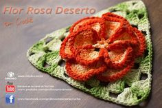 Que tal fazermos uma flor em crochê ? Aula aqui  https://www.youtube.com/watch?v=luxUP_6GhOU #dica #flor #crochet #professorasimone #semprecirculo