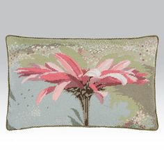 Echinacea - Ehrman Tapestry This needlepoint kit from Magie Hollingworth demonstrates the delicacy of flowers with these pink hues