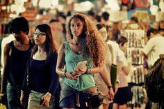 Street shot in Chinatown, Singapore