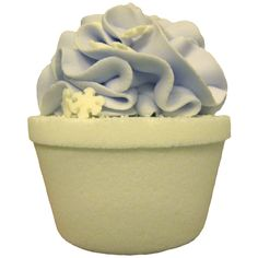 Fizzy Bath Cupcake - I Dream of Sleeping  -   This pretty little cupcake features our signature blend of lavender, vanilla and sandalwood.  All the essential oils that will bring you what you really yearn for, sleep!  Our I Dream of Sleeping Fizzy Bath Cupcake will nudge you gently off to sleep.  Goodnight!