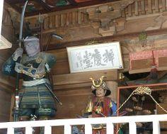 世界遺産・平泉旅行。中尊寺の弁慶堂の義経像