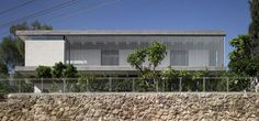 Image 5 of 17 from gallery of The Rechter House / Pitsou Kedem Architects. Photograph by Amit Geron Temporary Architecture, Architecture Design, Apartment Sites, In Praise Of Shadows, Pitsou Kedem, Exposed Concrete, New Interior Design, House By The Sea, Storey Homes