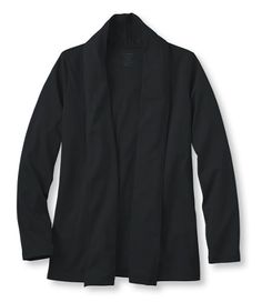 Pima Cotton Flyaway Cardigan: Tees and Knit Tops | Free Shipping at L.L.Bean