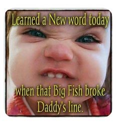 Funny Fishing Memes, Fishing Quotes, Fishing Humor, Fishing Stuff, Funny Relatable Memes, Funny Jokes, Hilarious, It's Funny, Funny Babies