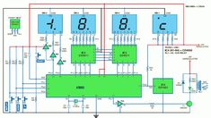 Thermometer Circuit Diagram