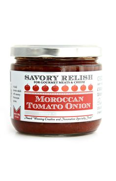 Moroccan Tomato Onion Savory Relish