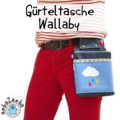 Gürteltasche Wallaby, Kreativ-Ebook - farbenmix Online-Shop - Schnittmuster, Anleitungen zum Nähen