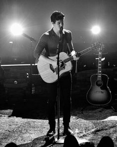 Shawn Mendes performs onstage during MTV Unplugged
