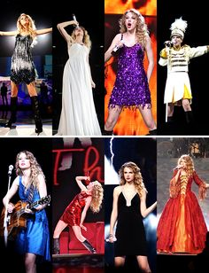 Fearless Tour Outfits