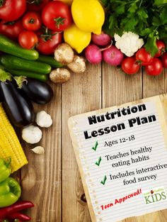Nutrition Lesson Plan Middle School - Highschool  - 00212 - Healthy Kids Plates