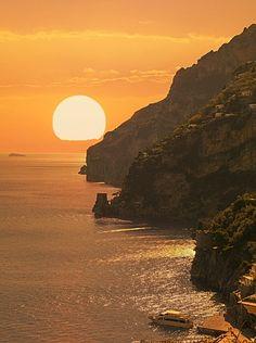 Positano, Costa de Amalfi, patrimonio de la humanidad, Campania, Italia, Mediterráneo, Europa