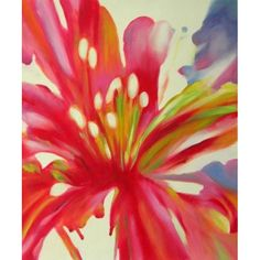 Lily Blossom Oil Painting
