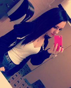 Bored in school so I take selfies  by _emmalei