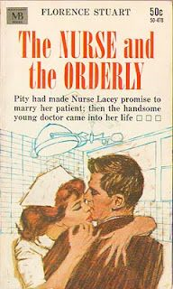 Vintage Nurse Romance Novels: The Nurse and the Orderly