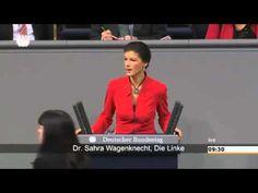 Wagenknecht criticizes Merkel for serving US interests to detriment of EU population/economy 26.11