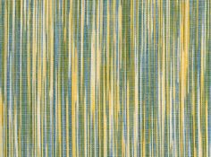 """Flamejat Albufera"" A marbled artisanal fabric made with yellow and blue tones, giving a blue-green effect at distante. A  fresh and very mediterranean design."