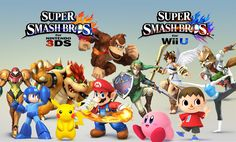 [WANT] Super Smash Bros Wii U. The definitive fighting game on the console