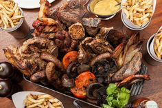 Mixed grill at Hawksmoor Guildhall