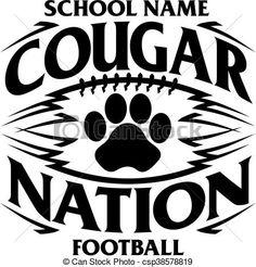 Tribal bulldog nation football team design with paw print for school, college or league. Football Spirit, Football Signs, Bulldogs Football, Football Program, Football Team, Bulldogs Team, School Football, Georgia Bulldogs, T Shirt