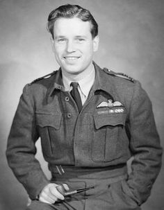 """Wing Commander Guy Penrose Gibson VC DSO (bar) DFC (bar), RAF (12 August 1918 – 19 September 1944),[1] was the first CO of the Royal Air Force's 617 Squadron, which he led in the """"Dam Busters"""" raid (Operation Chastise) in 1943, resulting in the destruction of two large dams in the Ruhr area. He was awarded the Victoria Cross and died later in the war. He had completed over 170 operations at the age of 24."""