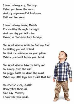 Cherish your children