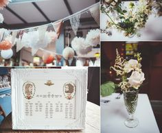 Wedding table plan from a London Pub Wedding | Photography by http://www.philippajamesphotography.com/