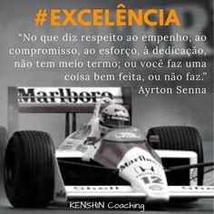 Ayrton Senna, nosso herói nacional, sempre demonstrava sua #excelencia no que fazia. Ele é o homenageado de hoje na galeria #34lentes. Você conhece seus pontos fortes?  #descubraseuspontosfortes #coaching #cliftonstrengths #strengthsfinder #maximizer #lifecoach Coaching, Ayrton Senna, Getting To Know, Tips, Celebrities, Training