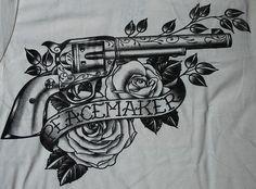 revolver tattoo - Szukaj w Google                                                                                                                                                                                 More