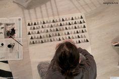 diy matto,tuunaus,työhuone,Tee itse - DIY,matto,kuvio,printti