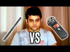 ▶ Comparação de captura de áudio - Microfone Yoga Shotgun vs Zoom H1 - YouTube