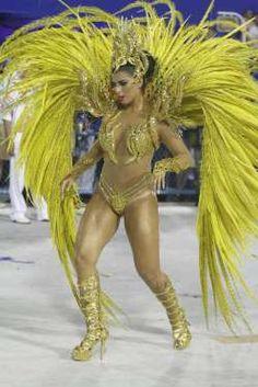 Bianca Leão exibiu o corpão em sua estreia como rainha de bateria no Carnaval do Rio. Ela represento... - AGNews