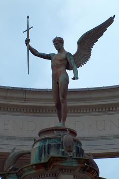 Angel of Victory, Cardiff.