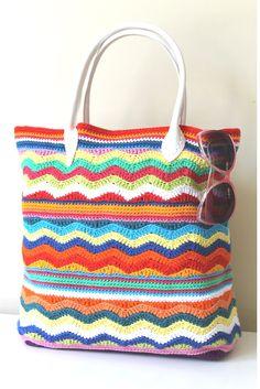 Sunny Days Beach Bag By  Annaboo's House - Free Crochet Pattern - (ravelry)