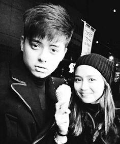 """Couple in black  ; © • { #kathniel #kathnielblog #kdblog } – """