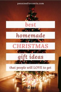 Simple DIY Christmas gift ideas that you will love to give and people will love to get. Homemade gift ideas that even you will want to have. Last Minute Christmas Gifts Diy, Christmas On A Budget, Diy Holiday Gifts, Easy Diy Gifts, Homemade Christmas Gifts, Christmas Diy, Merry Christmas, Diy Best Friend Gifts, Best Friend Christmas Gifts