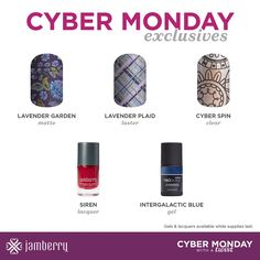 Jamberry cyber Monday exclusives for 2016!  Kcolonnelli.Jamberrynails.Net