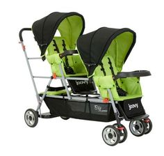 Joovy Big Caboose Stand-on Tandem Stroller - Appletree - Free Shipping.   Want one of these!