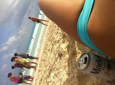 #BeachDay !! #beer #cancun ☀ Se antoja¡¡