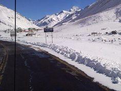 Camino a Las Cuevas- Mendoza