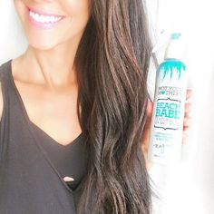 #Repost @brittanymaddux・Looking for Long 'Piecey' Beach Babe Waves this summer? Guys! This @nymbrands Beach Babe Spray is THE best & it's $6 at Target or Ulta!!! I simply curl my hair in loose curls by wrapping it around the curling iron then once it's all cooled I spray this all throughout and just comb through it with my FINGERS, not a brush. Beach Curls at your service!  #hair #haircare #hairtutorial #beachhair #beachwaves